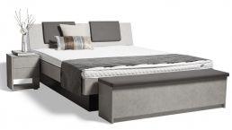 Akva Wasserbetten beim Schlafzimmer und Bettenhaus Körner in Nürnberg. Modell: Modulex