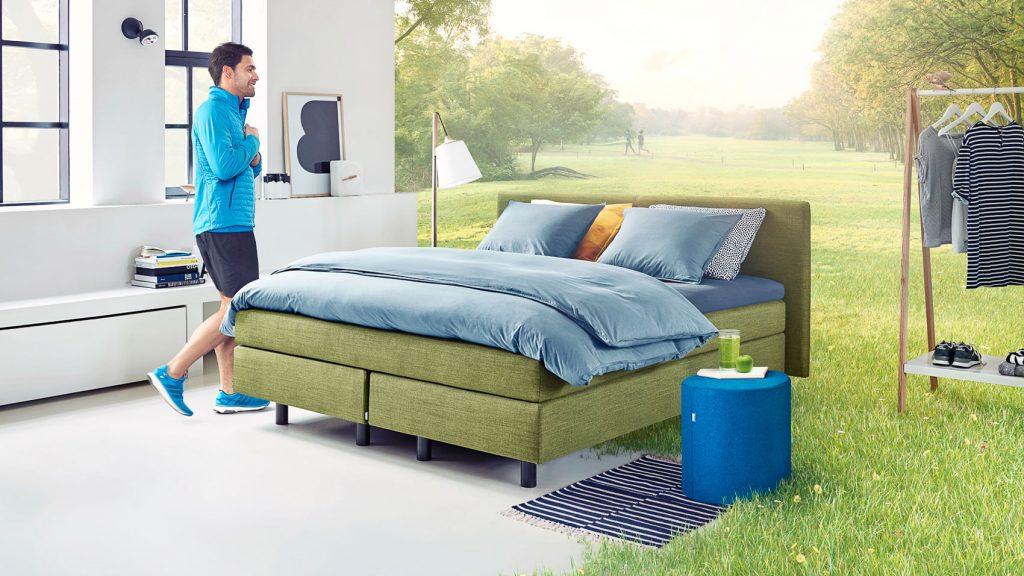 original boxspringbett auping dublin schlafzimmer und bettenhaus k rner co gmbh in n rnberg. Black Bedroom Furniture Sets. Home Design Ideas