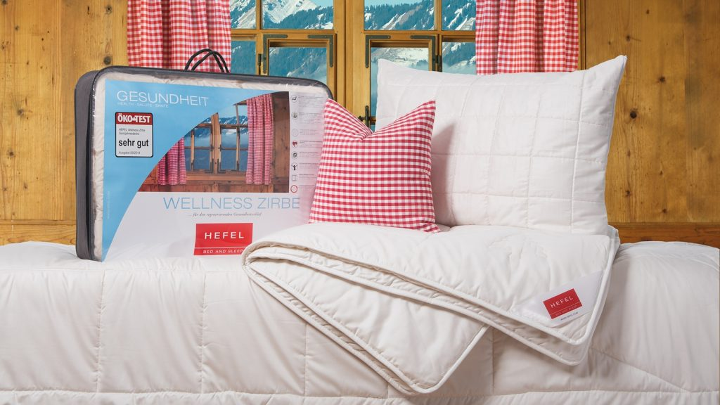 Bettdecken beim Schlafzimmer und Bettenhaus Körner in Nürnberg