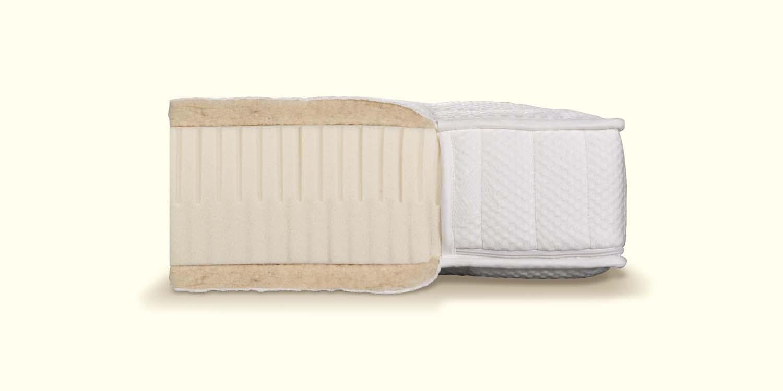 Die dormiente Natural Classic Mediform Naturlatexmatratze beim Schlafzimmer und Bettenhaus Körner in Nürnberg
