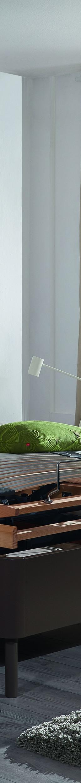 Das Kirchner Doppelbett Pinto mit integrierbarem Liftsystem beim Schlafzimmer und Bettenhaus Körner in Nürnberg