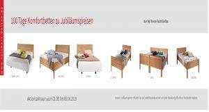 Komfortbetten 145 Jahre Reichert beim Schlafzimmer & Bettenhaus Körner Nürnberg