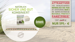 Das Dormiente Aktionsset März + April 2019. Jetzt Vorteilspreis beim Schlafzimmer und Bettenhaus Körner in Nürnberg